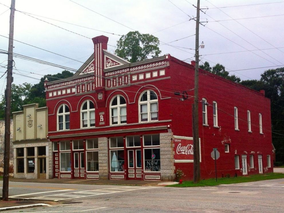 ef5bf1906e Beautiful Commercial Building for sale. It was used in TV series Walking  Dead. The town died down after after the textile mills closed during the  recession,