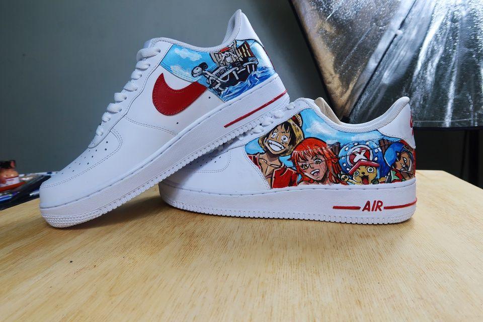 One Piece Custom | THE CUSTOM MOVEMENT | One piece, Nike air force ...
