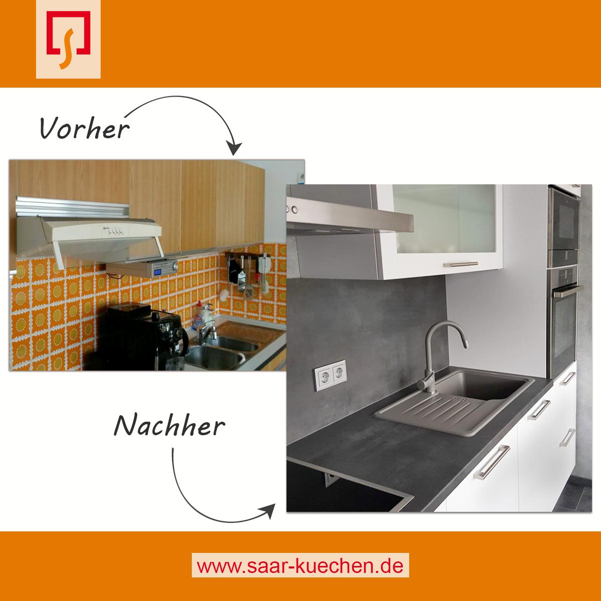 🍴 Von der zu kleinen Küche mit 70er Jahre Retro-Charme zum ...