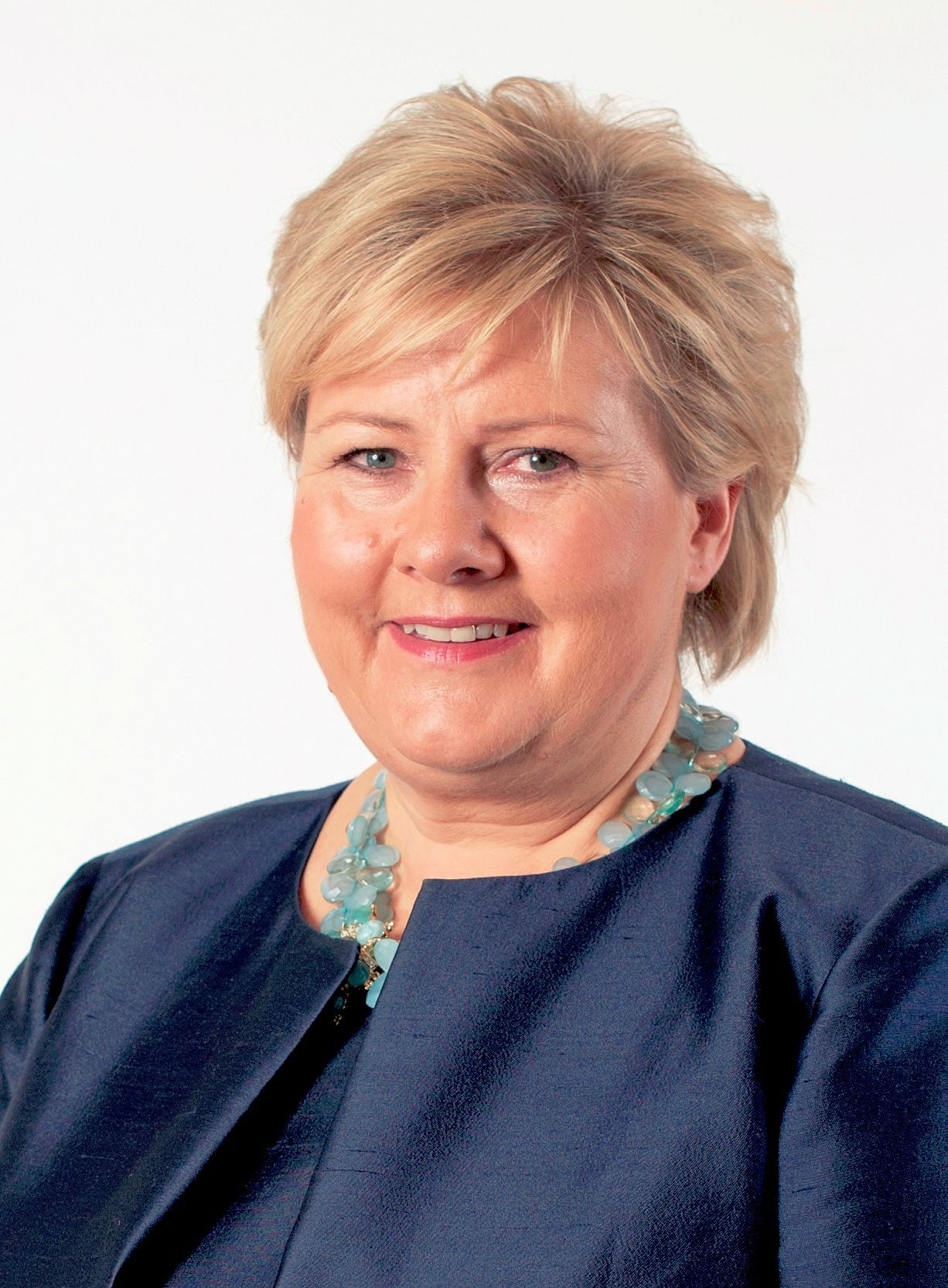 Erna Solberg Prime Minister Of Norway 2013 In 2019