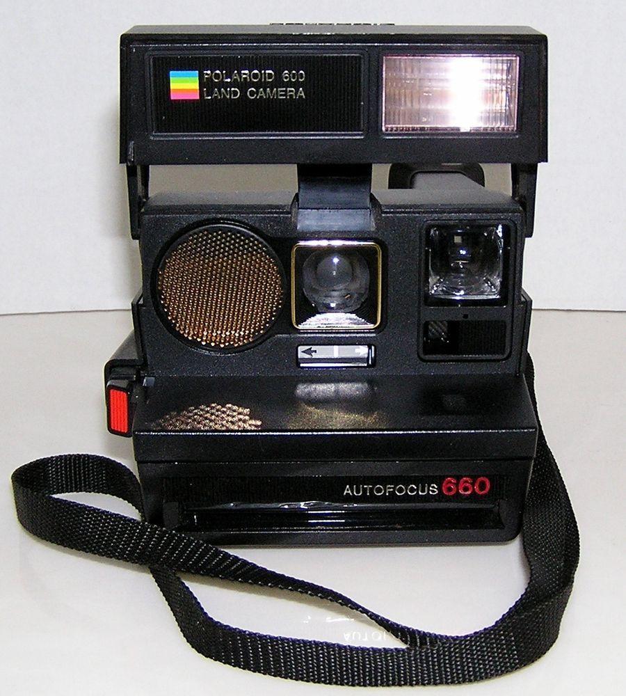 Polaroid 600 Land Camera Auto Focus 660 Vintage Instant Film Camera Fully Tested #Polaroid