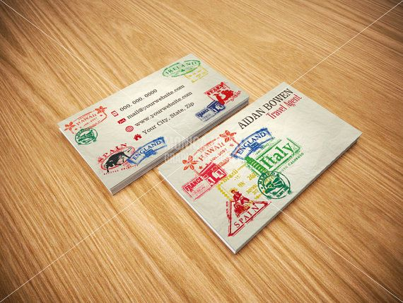 travel agent business cards   travel agency business cards   flights and packages coordinator