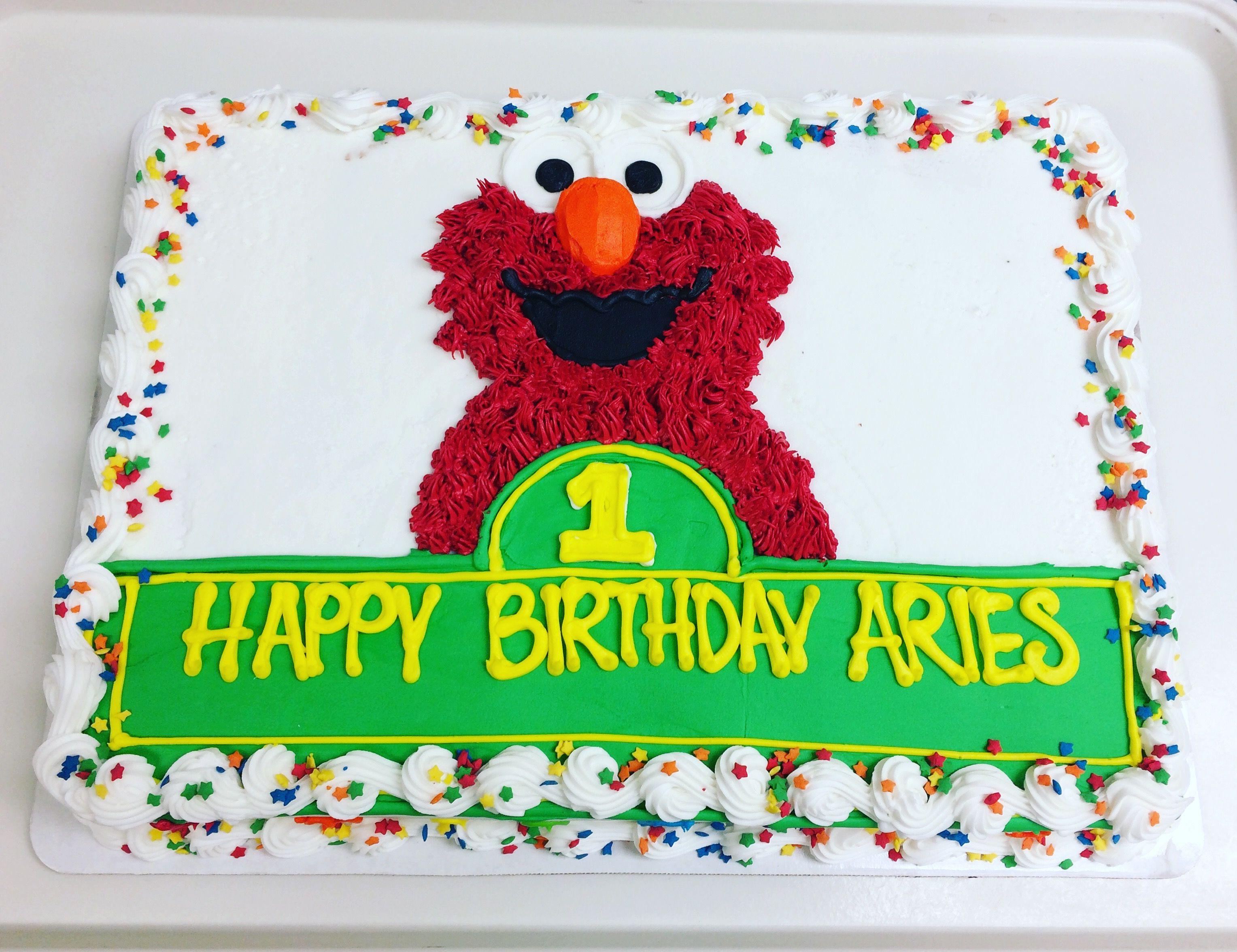 Elmo Cake Elmo Birthday Elmo Birthday Party Boy Sesame Street Birthday