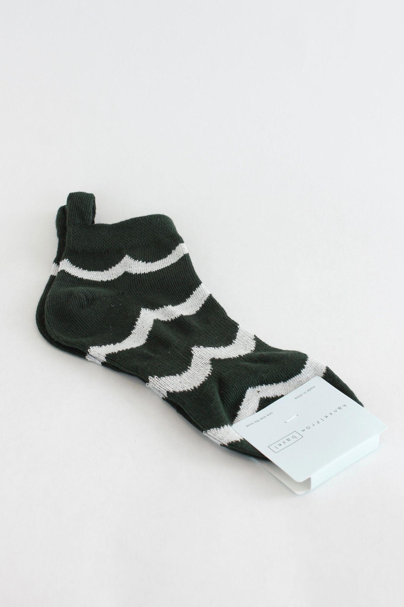 Hansel from Basel No show sock