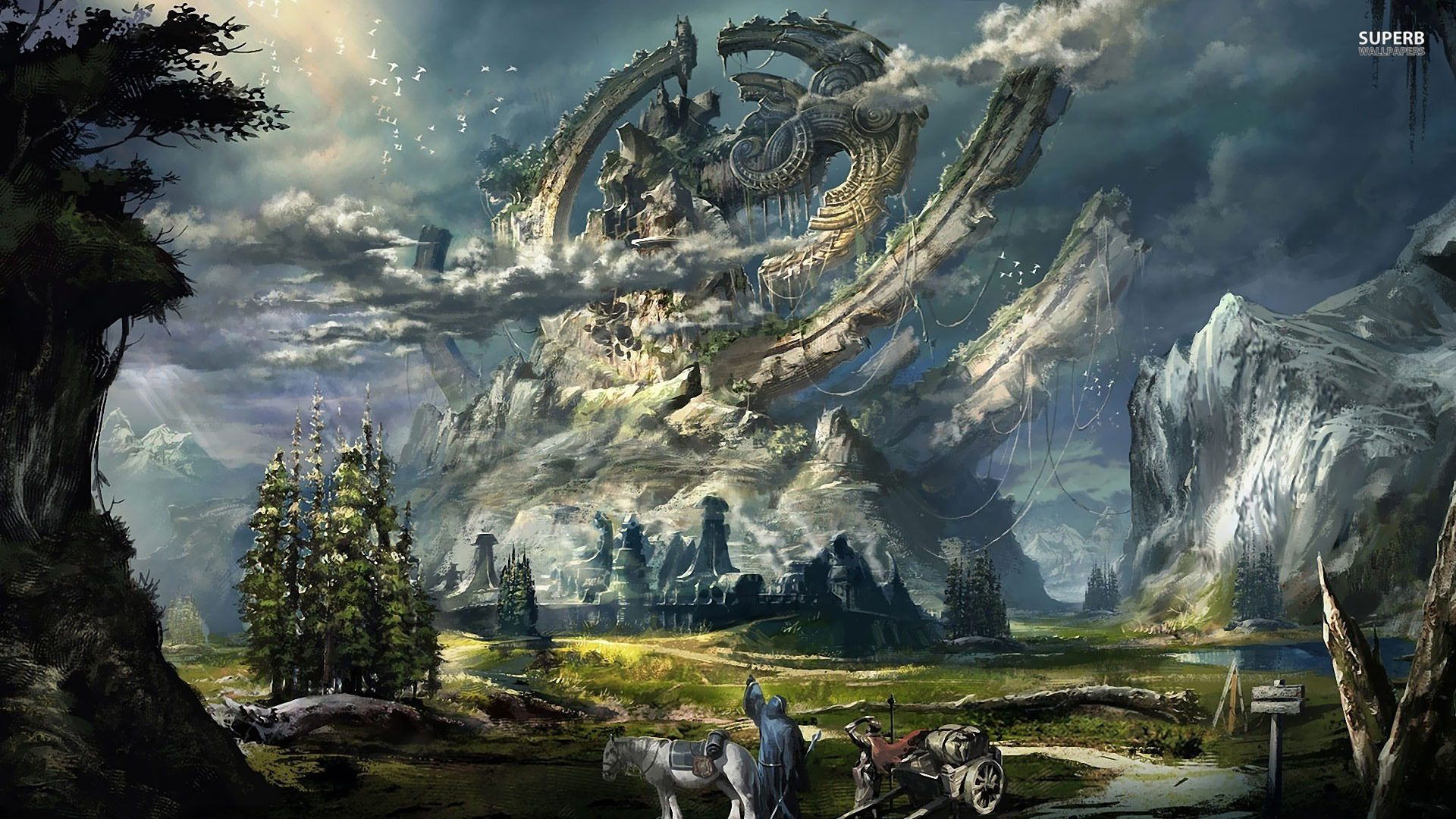 Fantasy land images adventure land wallpaper 1920x1080 - Fantasy land wallpaper ...