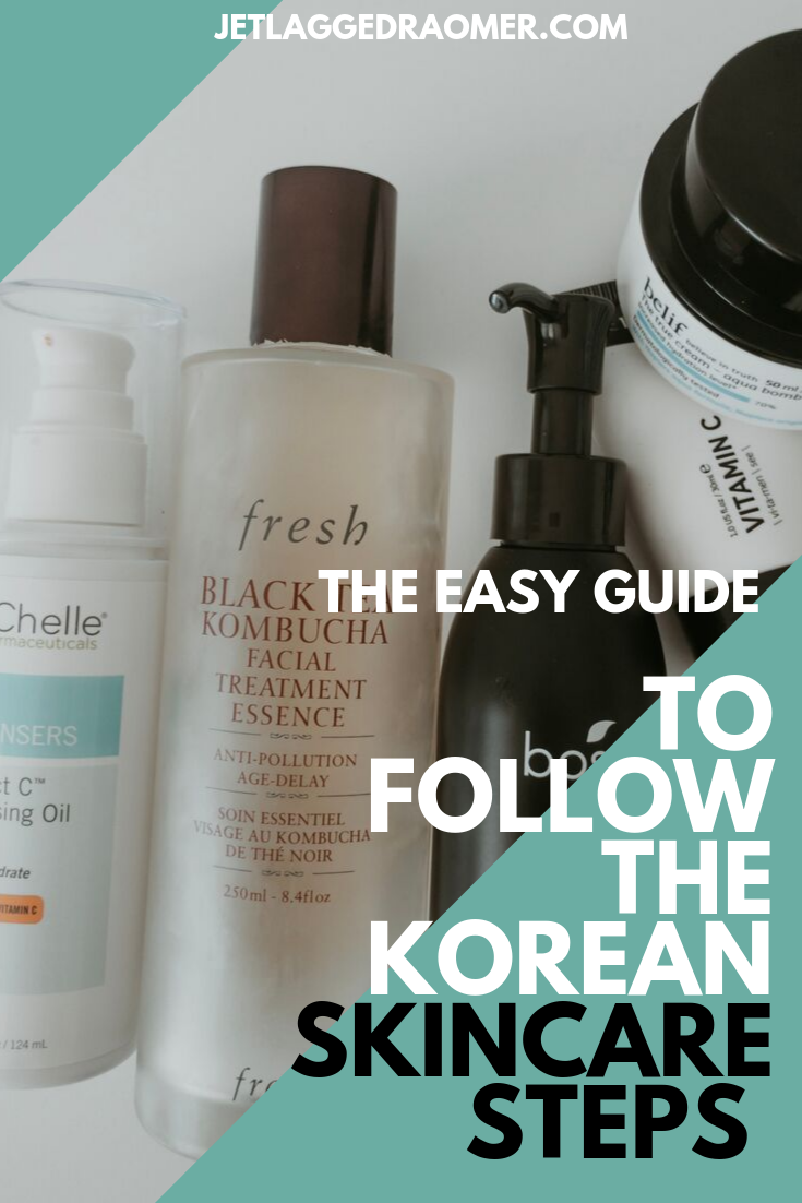 How To Follow The Korean Skincare Routine Day Night Steps Made Simple For Newbies Skin Care Routine Korean Skincare Routine Beauty Skin Care Routine