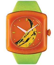 Andy Warhol Banana Watch