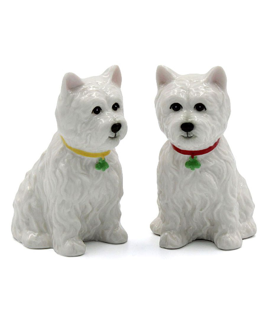 Look at this Westie Salt & Pepper Shakers on #zulily today!