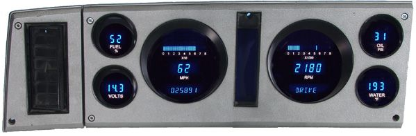 Dakota Digital Dash 82 83 84 85 Chevy Gmc S 15 S 10 Pickup Truck Blazer Gauge Cluster Vfd3 82c S10 Chevy Digital Gauge Trucks