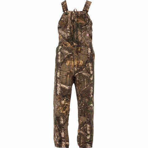 berne ladies realtree xtra camouflage quilt lined on womens insulated bib overalls id=52238