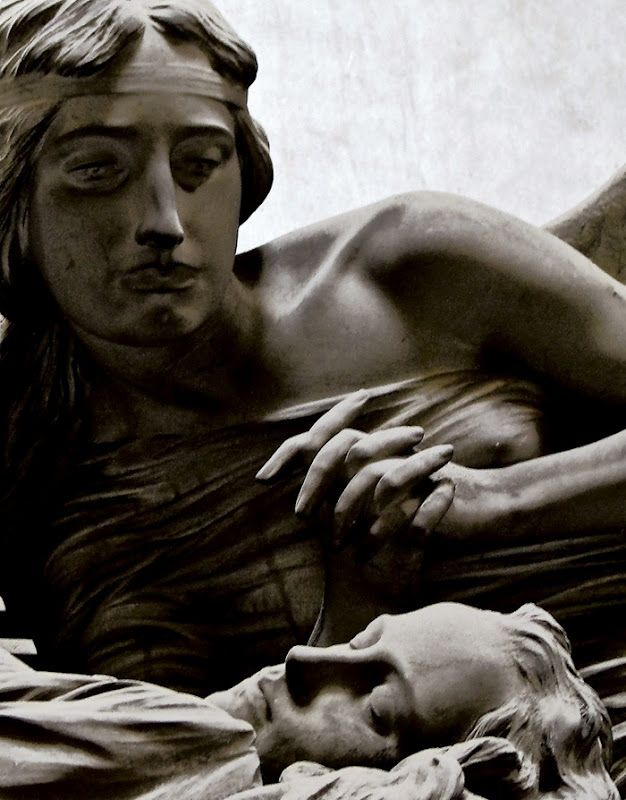 Beautiful Sculptures at the Staglieno Cemetery, Italy