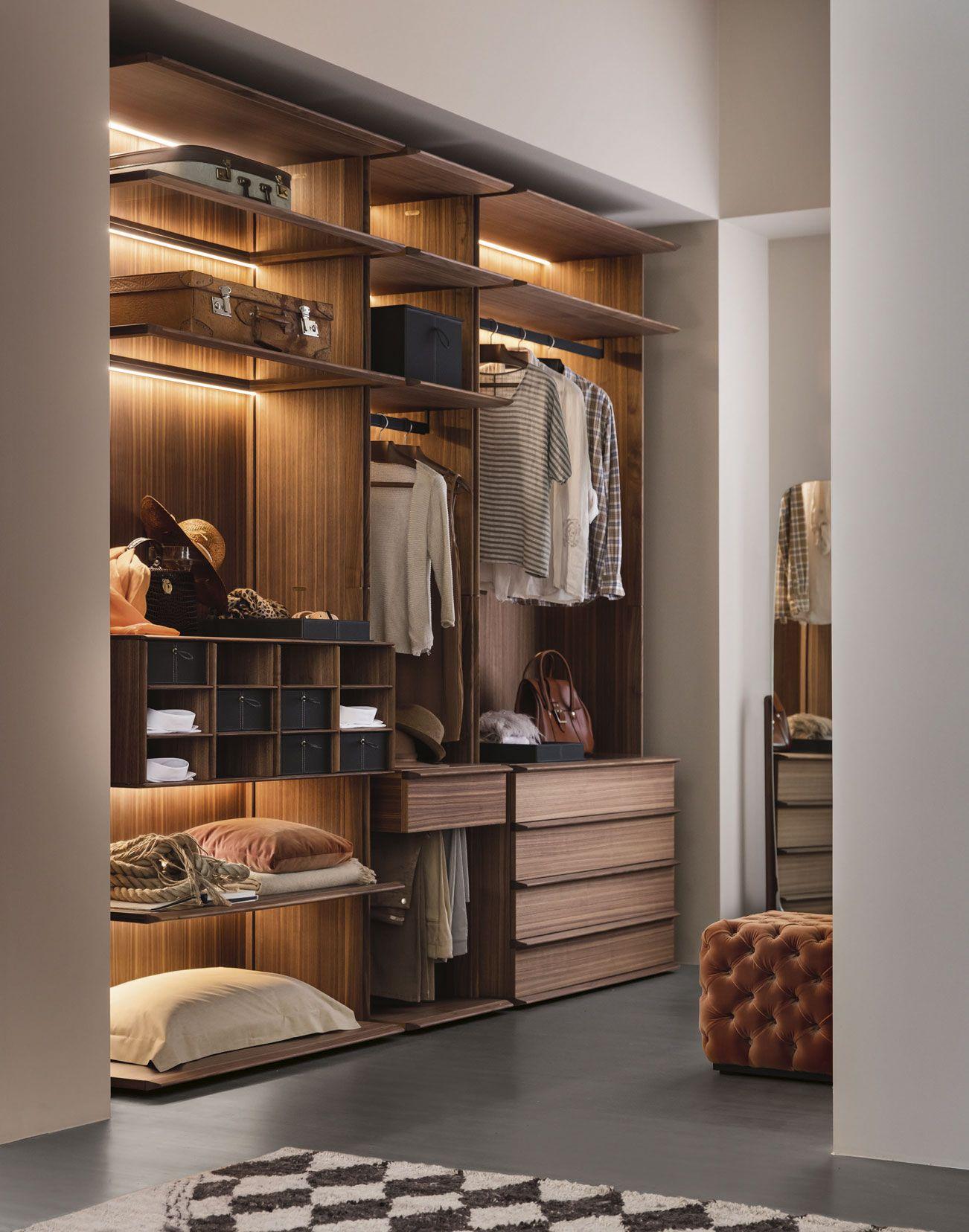 Mysuite Walk In Closet By Porada - Design Gabriele & Oscar