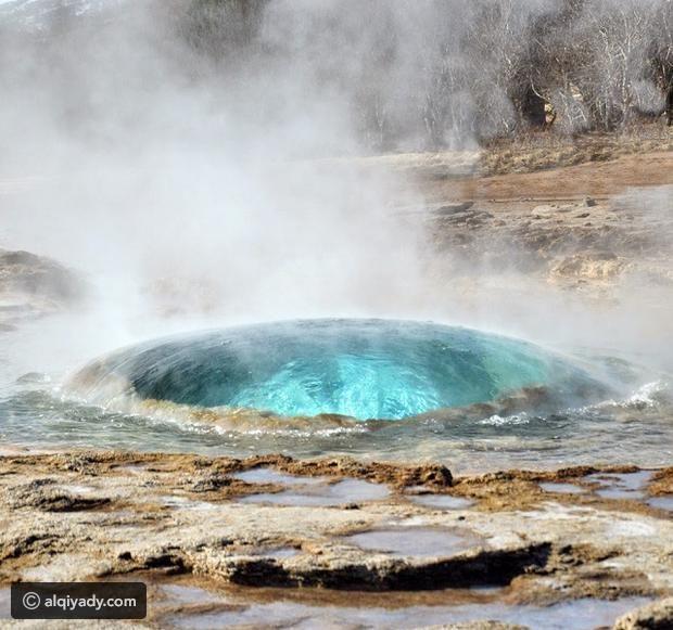 فيديو وصور الينابيع الساخنة في آيسلندا موقع القيادي Travel Fun Adventure Travel Geothermal