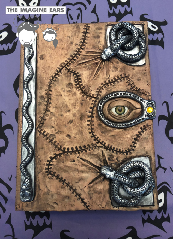 Diy Sanderson Sister S Spellbook From Hocus Pocus For Under 30 Hocus Pocus Spell Book Halloween Party Themes Haunted House Props