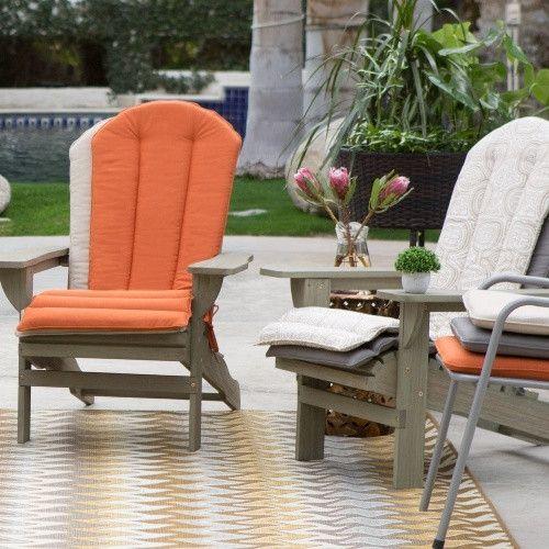 Belham Living Toscano Sunbrella Adirondack Chair Cushion Www