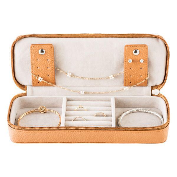 Stackers Blush Makeup Travel Case Travel Jewelry Case Jewelry Case Cleaning Jewelry