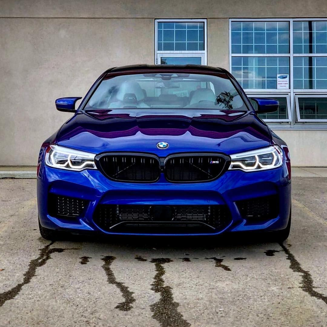 Atlantis Blue Metallic Bmw M3 Looks Stunning With Hre Wheels And