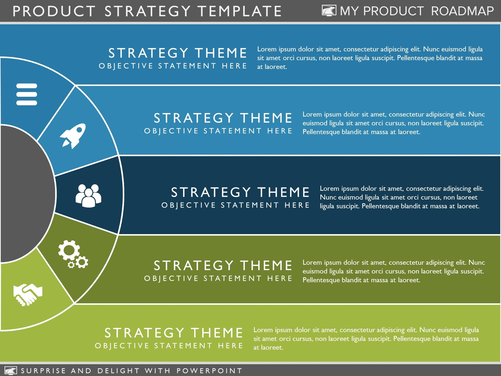 Product Strategy Template Project management templates