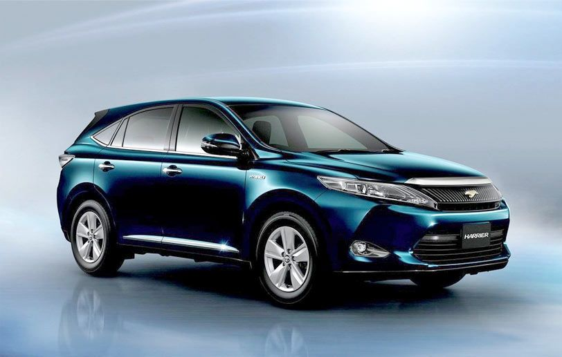 2020 Toyota Harrier Review Interior And Performance Just Car Review Toyota Harrier Car Car Dealership