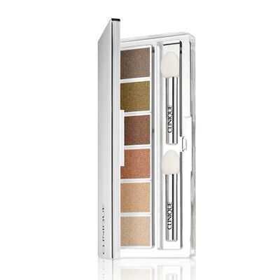 Clinique All About Shadow 6-Pan Palette - Aromatics in White Colour Collection 3.5g