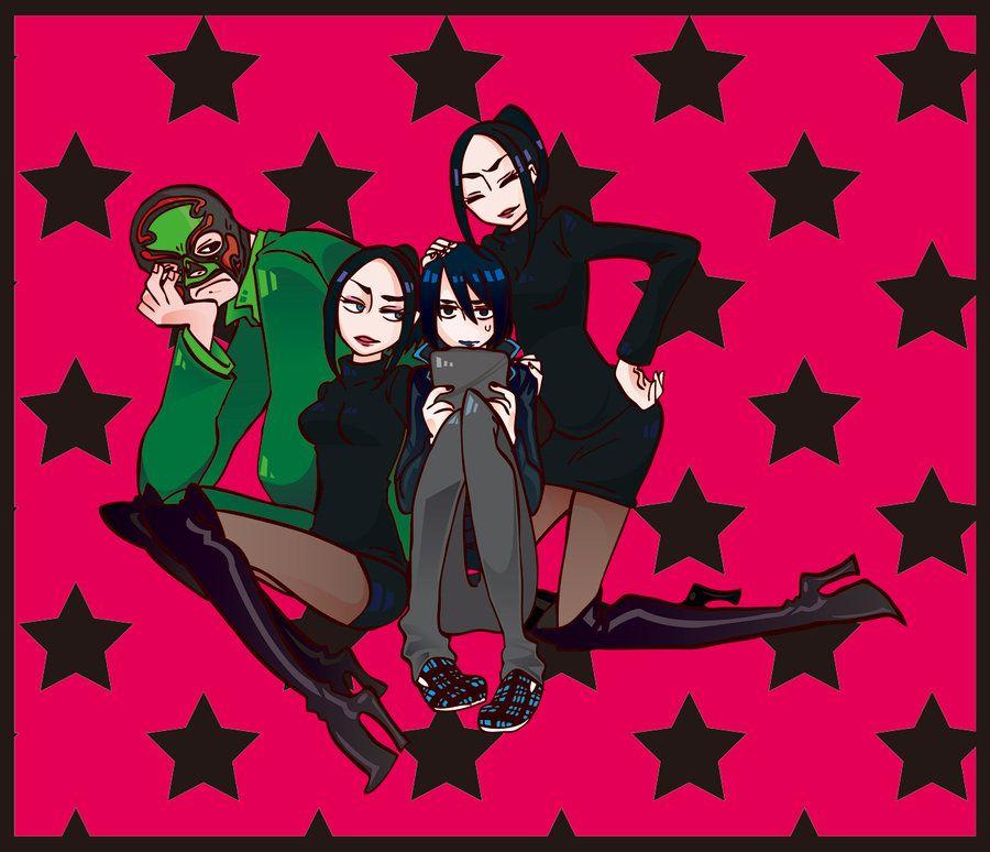 Saints Row 3 Anime Characters : Syndicate sibling by kikuzo