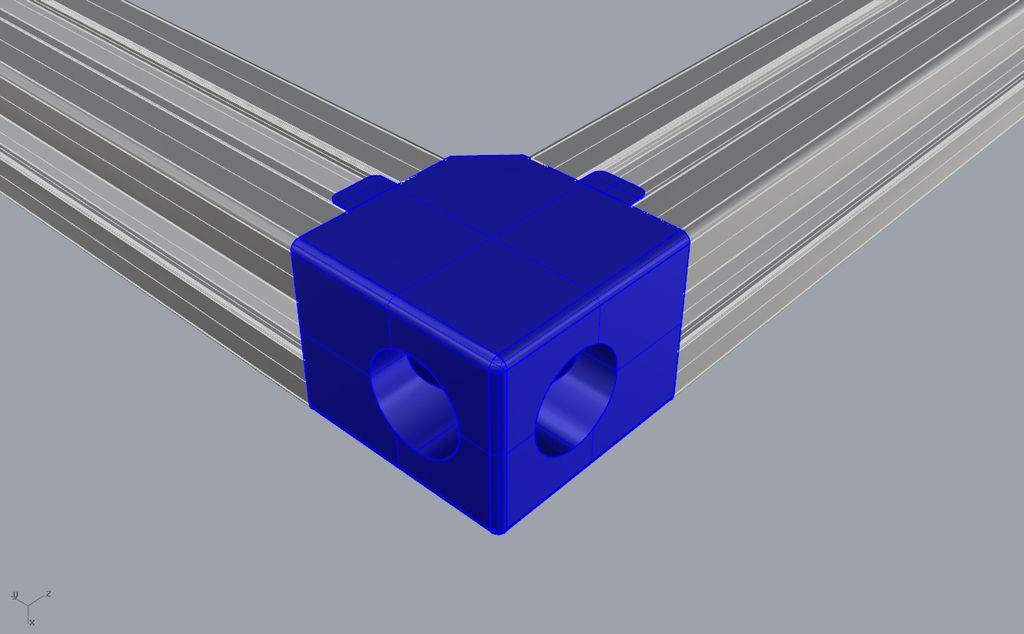 Extrusion Connectors A Collection By Bendavies2017 3d Pechat Pechat