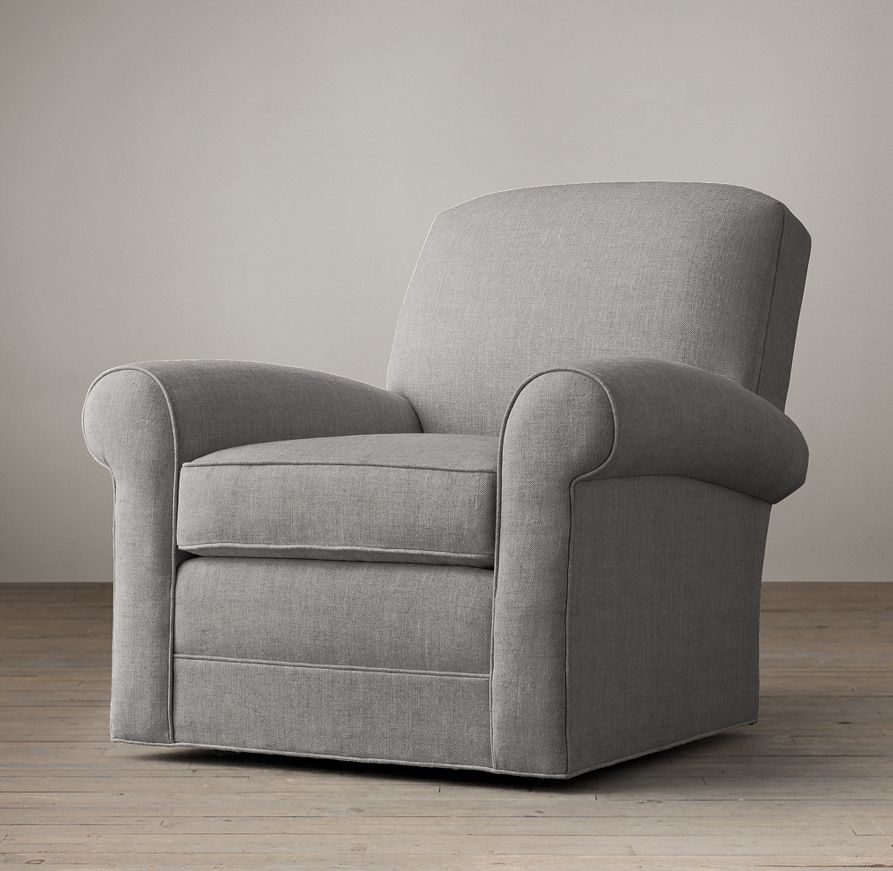 Lowell Club Swivel Chair | Swivels u0026 Recliners | Restoration Hardware & Lowell Club Swivel Chair | Swivels u0026 Recliners | Restoration ...