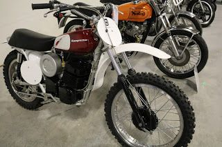 OldMotoDude: 1973 Husqvarna CR400 sold for $4,750 at the 2017 M...