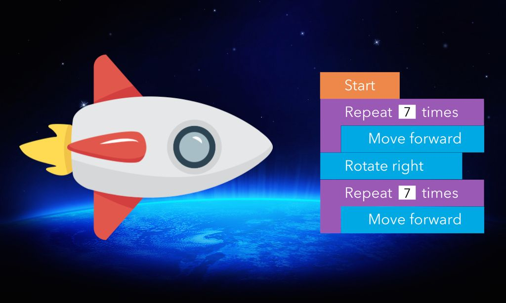 Coding With Paper Free Printable Space Game For Students