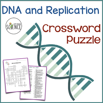 Dna and replication crossword puzzle students and high school biology dna and replication crossword puzzle malvernweather Gallery