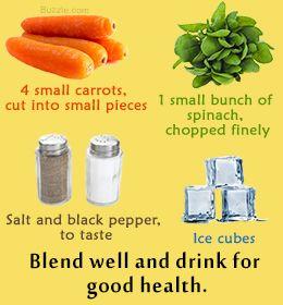 Best Juice Recipes For Diabetics Spinach Juice Recipes Recipes