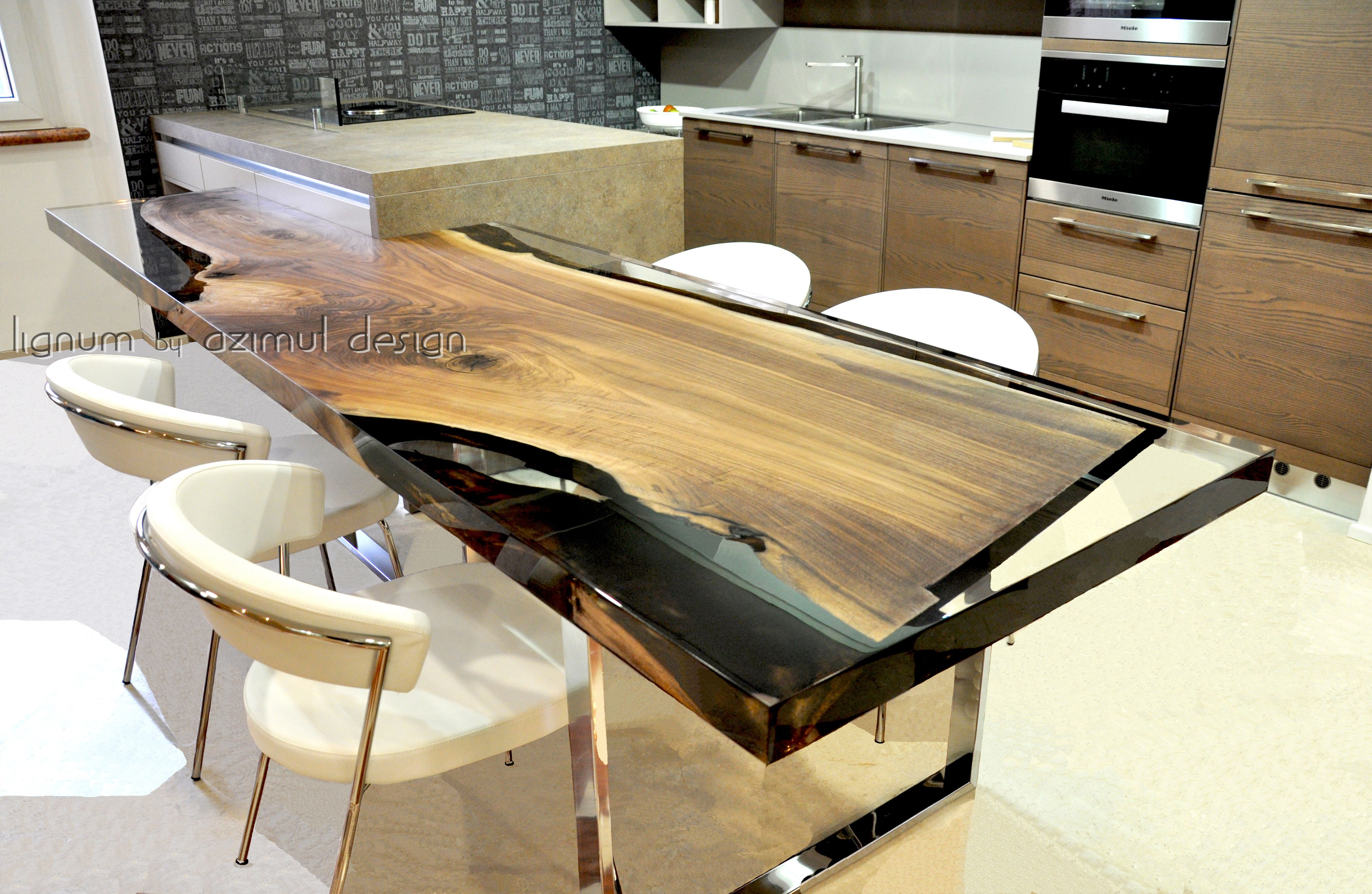 Top Cucina In Resina design elements for interiors: custom solutions | tavoli in