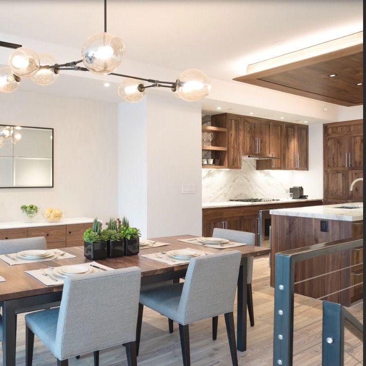 Kitchen Design Brooklyn Gorgeous Brooklyn Bridge #pierhouse Condo #dining & #kitchen Design 2018