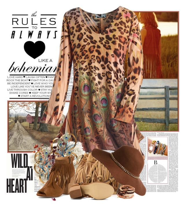 """""""Wild at Heart"""" by summersunshinesk7 ❤ liked on Polyvore featuring Balmain, Universal Lighting and Decor, Rebecca Minkoff, Pier 1 Imports, Forever 21 and Chinese Laundry"""