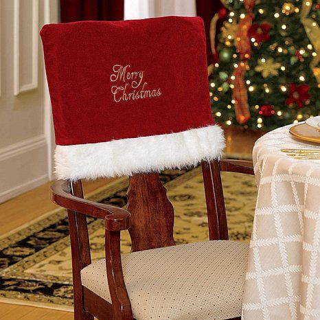 Improvements Merry Christmas Chair Covers Set Of 2 29 95