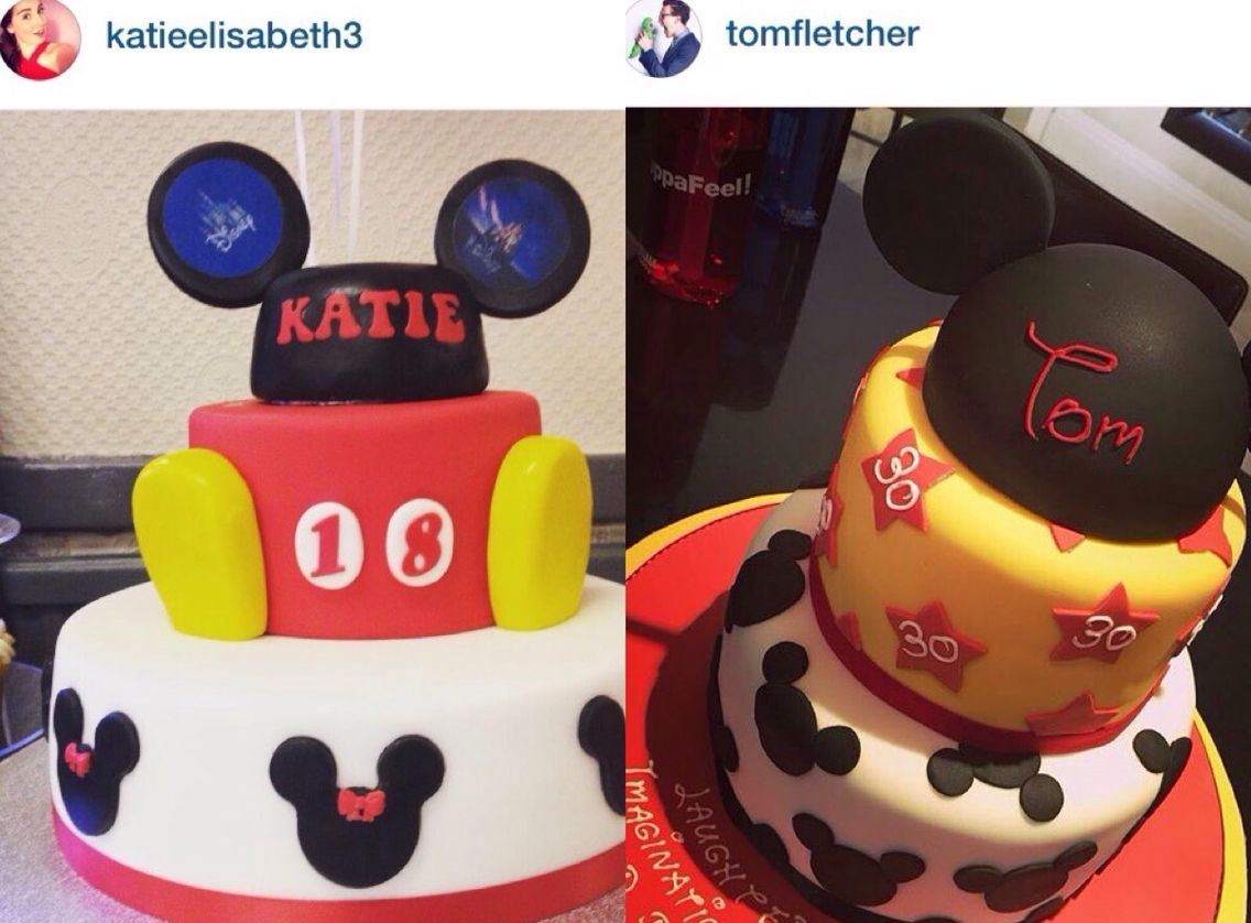 My 18th Birthday Cake For My Disney Themed Fancy Dress Party Is