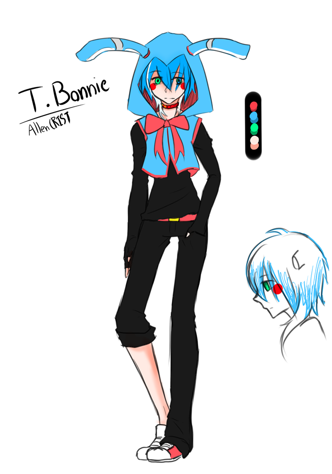 FNaf's 2 : Toy Bonnie by AllenCRIST on DeviantArt