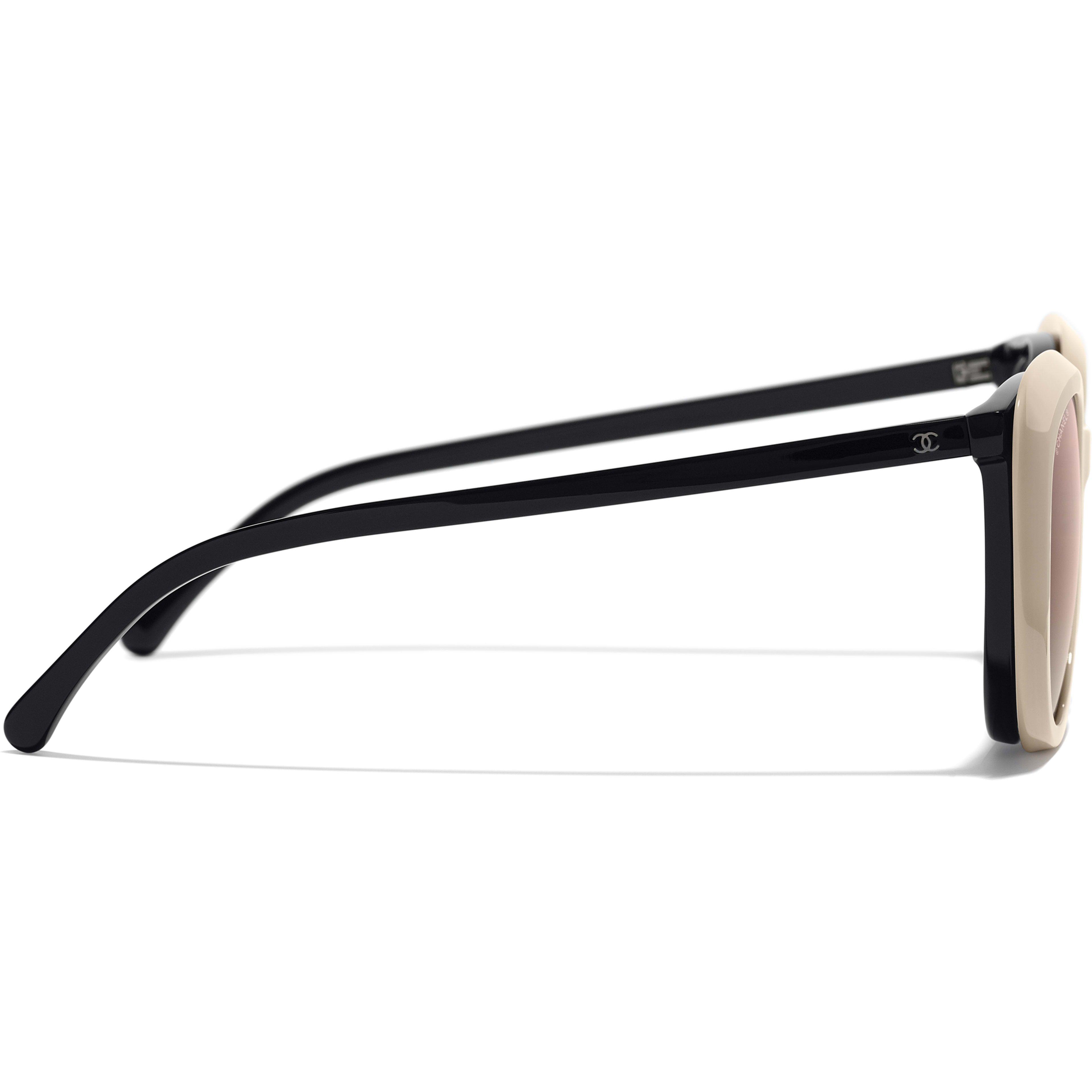 f8d9bbbb9a Clip on Sunglasses Black eyewear | CHANEL | EYEWEAR | Clip on ...