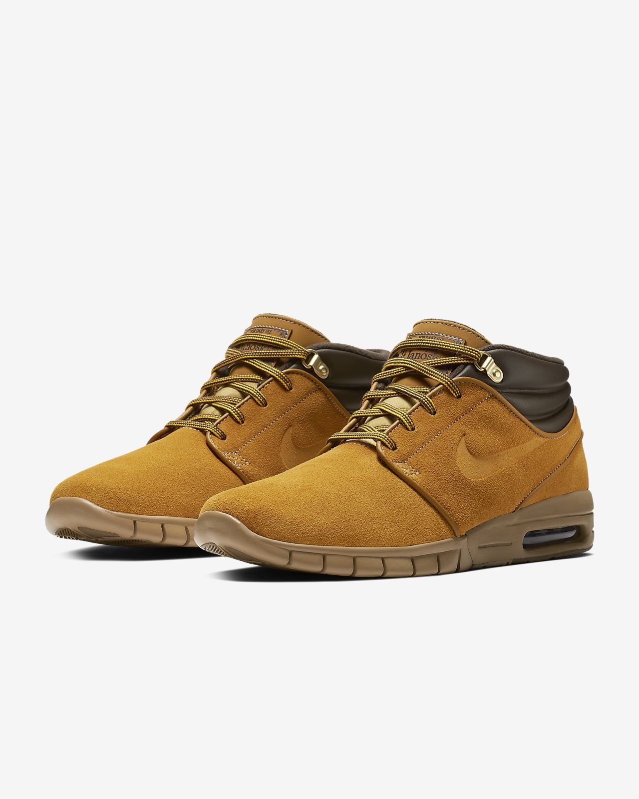 outlet store ce4a2 99882 Nike SB Stefan Janoski Max Mid Premium Men s Skateboarding Shoe