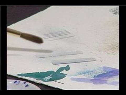 How To Fix Watercolor Painting Mistakes Fixing Watercolor