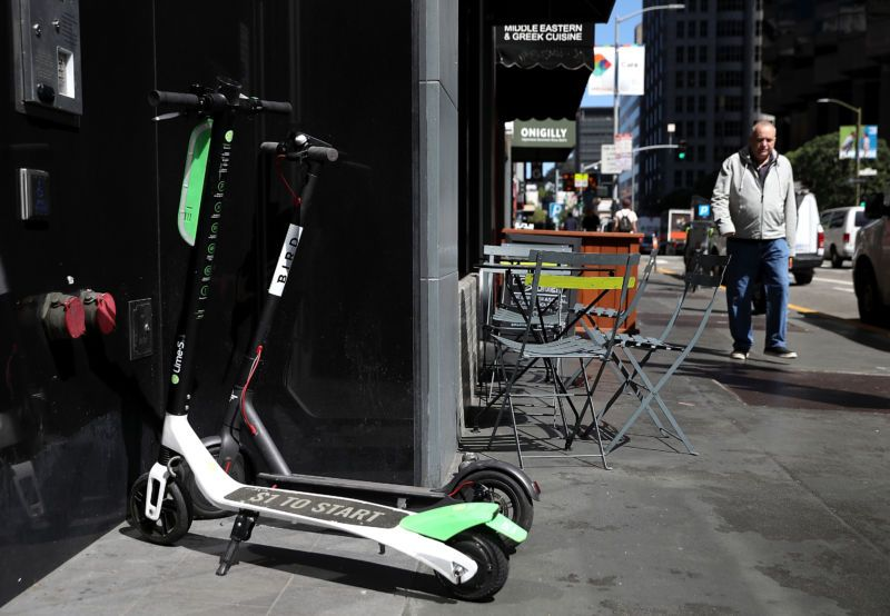 San Francisco to scooter startups Your customers are