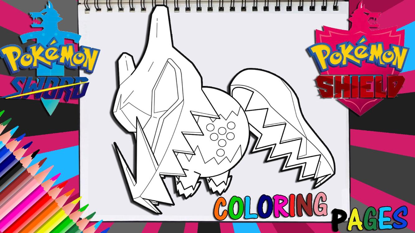 Pokemon Sword And Shield Regidrago Coloring Page Pokemon Pokemon Fan Art Pokemon Drawings