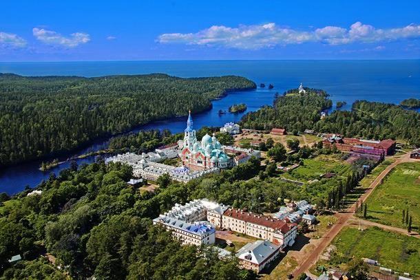The Island of Valaam — en Valaam, Kareliya, Russia.