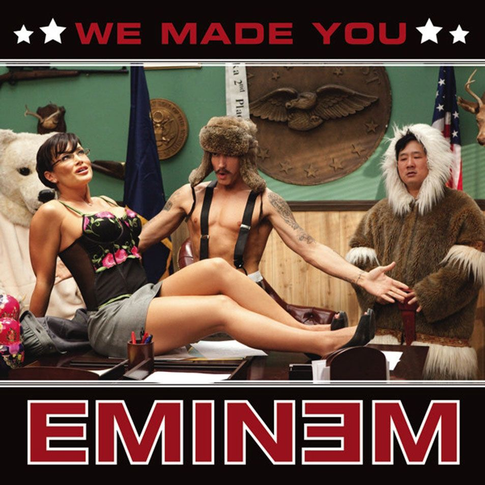 Eminem – We Made You (single cover art)