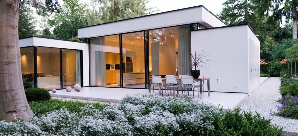Boxxis architecten bungalow tuin ontwerpgeheimen tuinhuis pinterest bungalows architecten - Buitenkant terras design ...