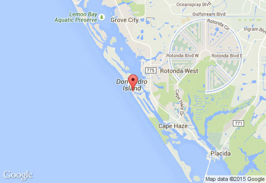 Map Of North Port Florida.Don Pedro Island State Park A Florida Park Located Near Cape Coral