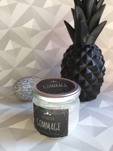 gommage scrub huile coco citron sucre naturel cosmetique. Black Bedroom Furniture Sets. Home Design Ideas