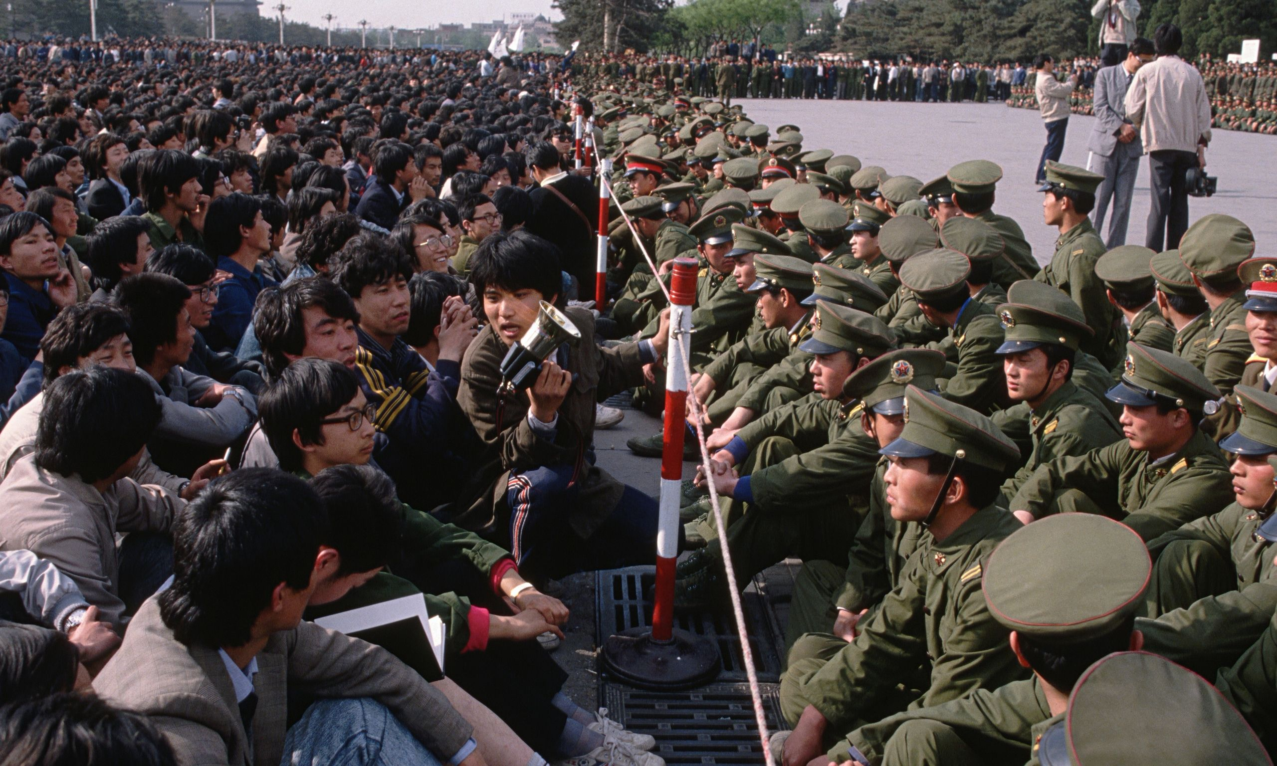 Tiananmen Square Protests And Crackdown 25 Years On Today In