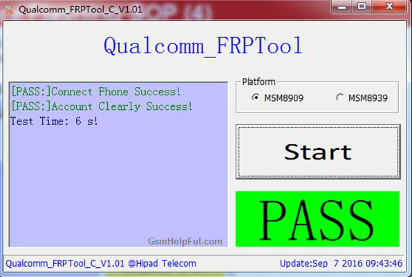 Qualcomm FRP Tool for your all Huawei devices using of this