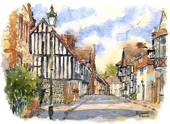 STEYNING- Sussex Village,